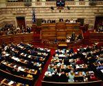 GREECE ATHENS PARLIAMENT FINAL BAILOUT MEASURES