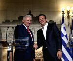 GREECE ATHENS TURKEY PM VISIT