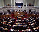 GREECE ATHENS PARLIAMENT SPEECH