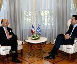 GREECE ATHENS FRANCE POLITICS