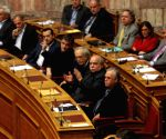 GREECE ATHENS NEW GOVERNMENT WAR ON CORRUPTION DECLARED