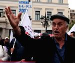 GREECE ATHENS PROTEST AUSTERITY MEASURES
