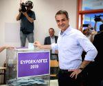 GREECE-ATHENS-EUROPEAN PARLIAMENT ELECTIONS
