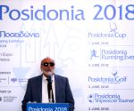 GREECE-ATHENS-POSIDONIA SHIPPING EXHIBITION-PRESS CONFERENCE