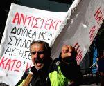Greece-Athens anti-austerity General Strike