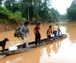 LAOS ATTAPEU DAM FLOOD