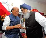 Rajnath SIngh at international border