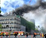 'Fire in New Zealand's Auckland may impact APEC conference'