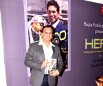 "launch of book ""Hero: A Biography of Sachin Ramesh Tendulkar"