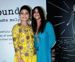 Natasha Malpani Oswal, Ekta Kapoor, Sushant Singh Rajput at book launch