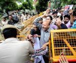 Er Rashid's demonstration