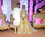 Azhar Morani and Tanya Seth's wedding reception