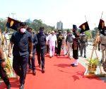 "Free Photo:  B'LORE ON: ""Karnataka CM felicitates 1971 war heroes in Bengaluru""."