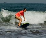 Bollywood actress Kalki Koechlin misses surfing