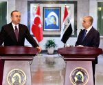 IRAQ BAGHDAD TURKISH FM VISIT
