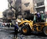 IRAQ-BAGHDAD-CAR BOMB-DEATH TOLL RISE