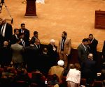 IRAQ BAGHDAD PARLIAMENT FIRST SESSION