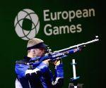 AZERBAIJAN BAKU EUROPEAN GAMES AIR RIFLE