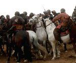 Balkh (Afghanistan): horsemen Competition