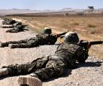 AFGHANISTAN BALKH MILITARY TRAINING