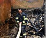 AFGHANISTAN BALKH MARKET FIRE