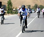 AFGHANISTAN BAMYAN CYCLING EVENT ANTI DRUG