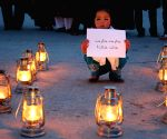 AFGHANISTAN BAMYAN PROTEST ELECTRICITY