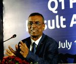 Chandra Shekhar Ghosh at a press conference