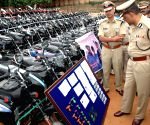 Bangalore Police property parade