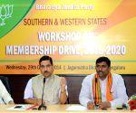 BJP workshop on 'Membership Drive  2015-20