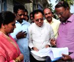 Bangalore Mayor inspects development