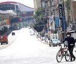 Bangaluru roads made one-way to block lockdown violators