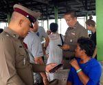 THAILAND TOURIST SPEEDBOAT CAPSIZING