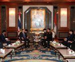 Prayuth Chan-ocha meets Harsh Vardhan Shringla