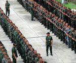 THAILAND BANGKOK LATE KING'S FUNERAL PREPARATIONS