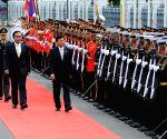 THAILAND BANGKOK LAOS PM VISIT
