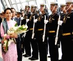 THAILAND-BANGKOK-AUNG SAN SUU KYI-VISIT