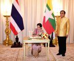 THAILAND BANGKOK MYANMAR AUNG SAN SUU KYI VISIT