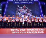 THAILAND BANGKOK BADMINTON UBER CUP FINAL