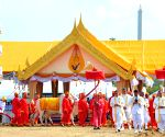 The Royal Ploughing ceremony in Bangkok