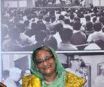 Bangladesh PM Sheikh Hasina visits Netaji Bhawan