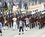 Free Photo: Bangladeshi Band participate in full dress rehearsal republic day 2021 in New Delhi on Friday