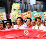 Bangladeshi Deputy High Commissioner participates in a Boishakhi rally