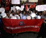 Bank workers' demonstration