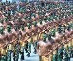 INDONESIA-BANTEN-ARMED FORCE DAY