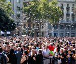 SPAIN BARCELONA TERROR ATTACKS MOURNING
