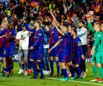 SPAIN-BARCELONA-SPANISH LEAGUE-BARCELONA VS REAL MADRID