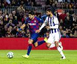 SPAIN-BARCELONA-SOCCER-LALIGA-FC BARCELONA VS REAL VALLADOLID