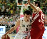 Lithuania v/s Turkey during the FIBA Basketball World Cup Spain 2014