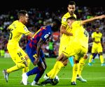 SPAIN BARCELONA SOCCER SPANISH LEAGUE BARCELONA VS VILLARREAL